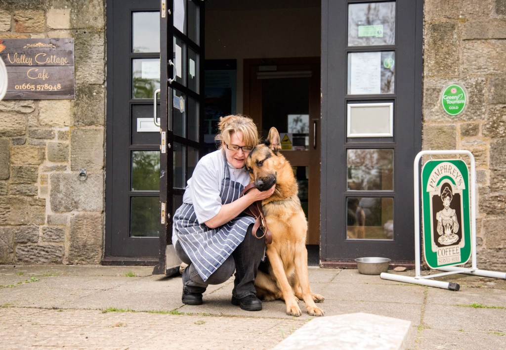 Sam visits the Valley Cafe and gets spoilt by Sheila